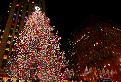 christmas mygifs christmas tree nyc new york city rockefeller