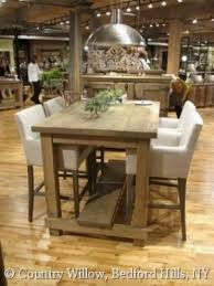 kitchen table furniture rectangular bar height table foter