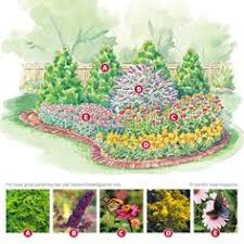 no fuss bird and butterfly garden plan garden planning