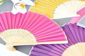 fan wedding favors bamboo fans wedding paper fans bamboo fan wedding favors tea