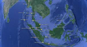 Google Maps Asia by Noaa Coral Reef Watch Southeast Asia Virtual Stations