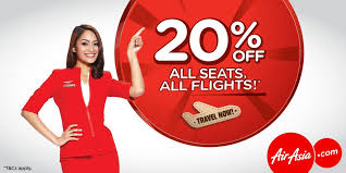 airasia singapore promo airasia singapore 20 off all seats all flights promotion ends 12