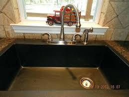 black composite kitchen sink meetly co