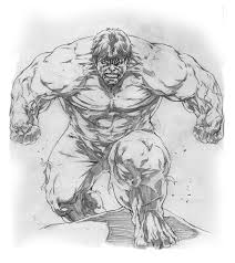 hulk sketch drawing by caananwhite on deviantart for coloring