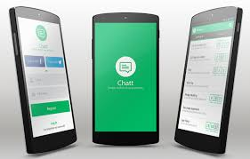 chat android chatt android app template