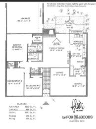 Old Pulte Floor Plans Valuable Idea Floor Plans For Fox And Jacobs Homes 11 Pulte Home Act