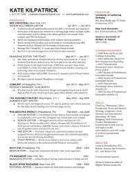 Resume Sample Product Manager by Journalism Resume Resume For Your Job Application