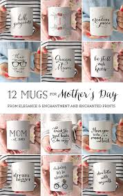 mothers day mugs 12 mugs for s day