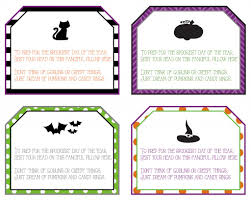Free Printable Halloween Tags For Gift Bags by Halloween Tag Ideas U2013 Festival Collections
