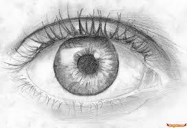beautiful eye black pencil sketch how to draw an eye in pencil