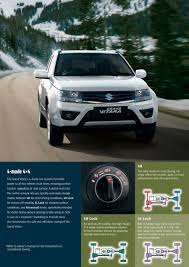 suzuki grand vitara 2017 by suzuki new zealand