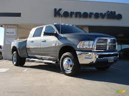 dodge ram mega cab dually for sale 2011 mineral gray metallic dodge ram 3500 hd laramie mega cab 4x4