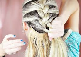 how to braid extensions into your own hair elsa hair tutorial snow queen big french braid love maegan