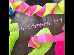 streamers paper paper streamer decorations