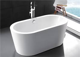 virtu usa freestanding soaking tub 15709326 overstock ove decors