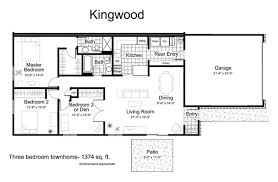 One Level Living Floor Plans Townhomes For Rent In Eden Prairie Mn Tanager Creek