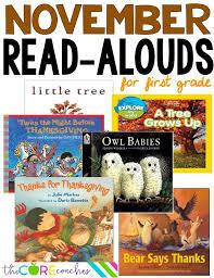 november read alouds for grade happy holidays