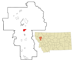 Map Of Montana Cities And Towns by Pablo Montana Wikipedia