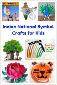 indian national symbol crafts for kids national animal symbols
