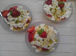 cuisine brousse coupes de brousse aux fraises la cuisine de bulle