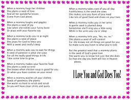 mothers day poems for kids exprimartdesign com