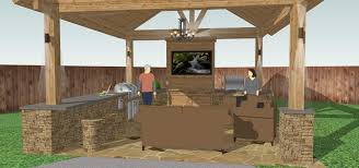 Small Outdoor Kitchen Design by Outdoor Kitchen Plans Video And Photos Madlonsbigbear Com