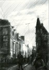 drawings sketch by corne akkers abstract fine art