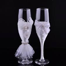 wine glasses for wedding new wedding toasting flutes chagne glasses wedding decoration