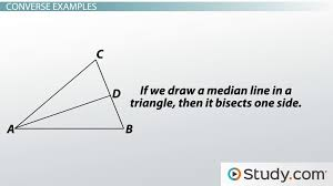 converse of a statement explanation and example video u0026 lesson