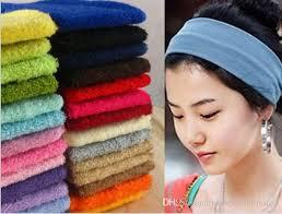 sport headbands colors vogue women sport headband simple hairband elastic