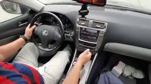 lexus is uae used how to drive with paddles shifter tutorial lexus is250 youtube