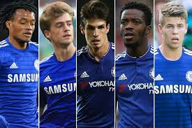 chelsea youth players chelsea have thirty three players out on loan but where are they