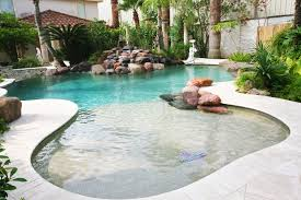 backyard upgrades turning a sloped property into water side
