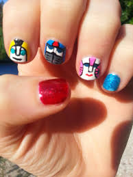 transformers robots in disguise nail art a craft and a half