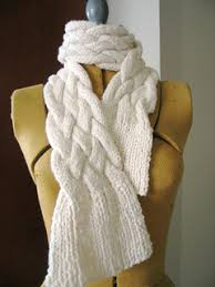 braided scarf ravelry chunky braided scarf pattern by jimenita