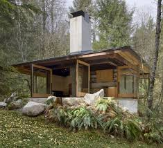 wood cabin plans future in ruins small open plan concrete wood cabin
