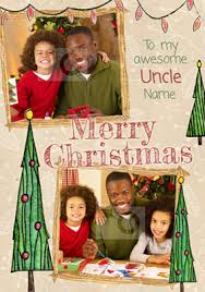 buy uncle christmas cards funky pigeon
