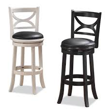 Leather Swivel Bar Stool Furniture Best Leather Swivel Bar Stools For Home Interior