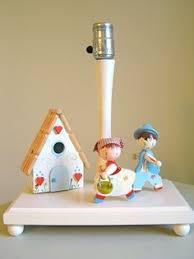 childrens lamp irmi nursery originals 1950s vintage lamps