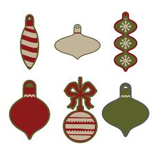 ornaments digital set holidays seasons