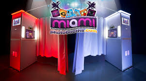 photo booth rental miami photo booth rental wedding corporate event quince