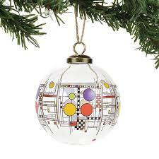 frank lloyd wright tagged hanging ornament enesco gift shop