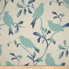 Upholstery Fabric With Birds Magnolia Home Fashions Rockin U0027 Robin Breeze Discount Designer