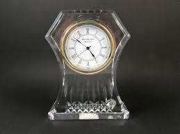 Waterford Vase Patterns Waterford Crystal Clock Lismore Pattern Quartz Clock Paperweight