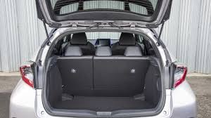 Most Interior Space Suv Toyota C Hr Suv Practicality U0026 Boot Space Carbuyer