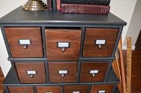apothecary dresser vintage inspired apothecary cabinet before after let s get crafty