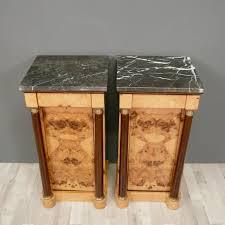 scrivania stile impero coppia di tavoli comodini stile impero mobili