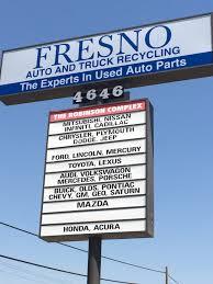 car junkyard fresno ca fresno auto and truck recycling fresno ca 93725 yp com