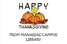 happy thanksgiving manassas cus library