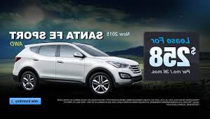 hyundai santa fe leasing hyundai santa fe lease special the cars info